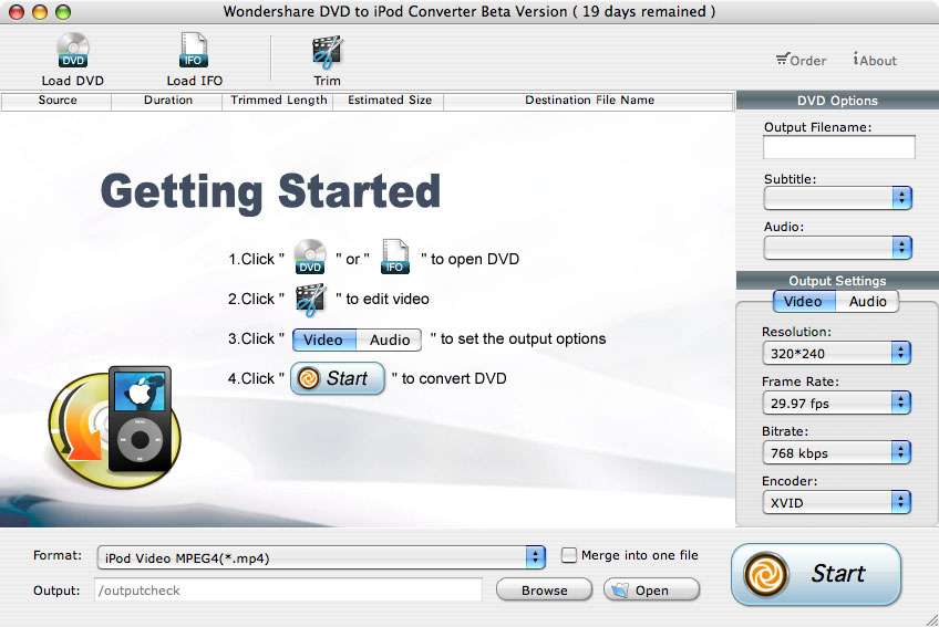 DVD to iPod Converter for Mac